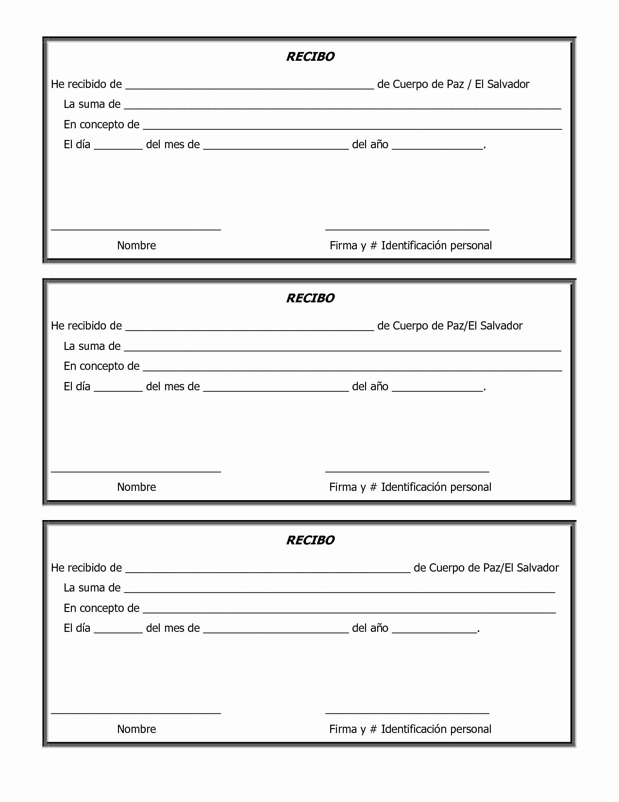 Donation Receipt Letter Template Word Inspirational Free Printable Sample Donation form and Template V M