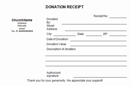 Donation Receipt Letter Template Word Lovely 50 Free Receipt Templates Cash Sales Donation Taxi