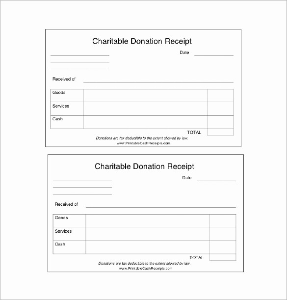 Donation Receipt Letter Template Word Luxury 18 Donation Receipt Templates Doc Pdf