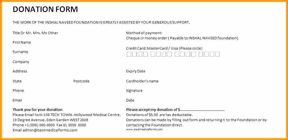 Donation Receipt Template Google Docs Luxury Template You Can Download A Version the Donation