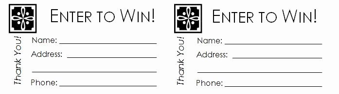 Door Prize Entry form Template Lovely 40 Free Editable Raffle & Movie Ticket Templates
