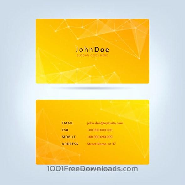 Double Sided Flash Card Template Beautiful Бесплатные шаблоны для визитных карточек
