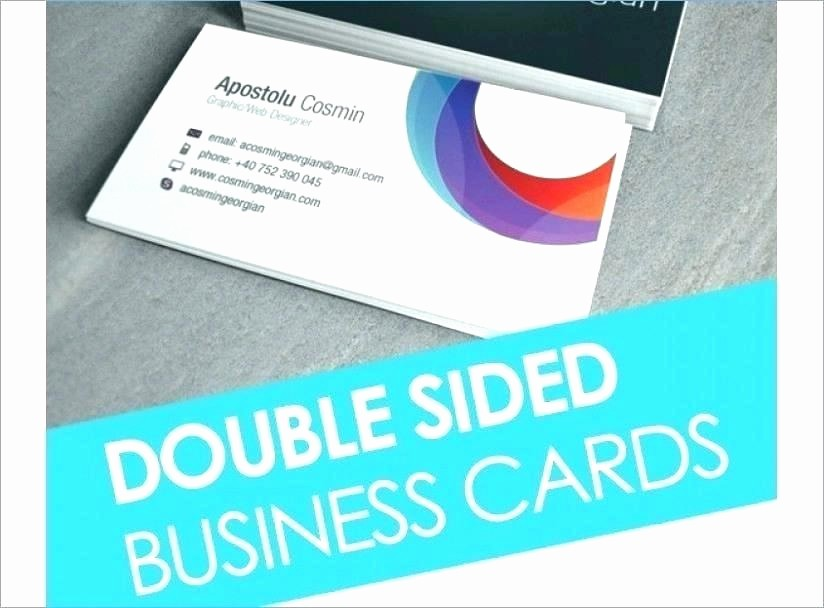 Double Sided Flash Card Template Elegant Double Sided Card Template