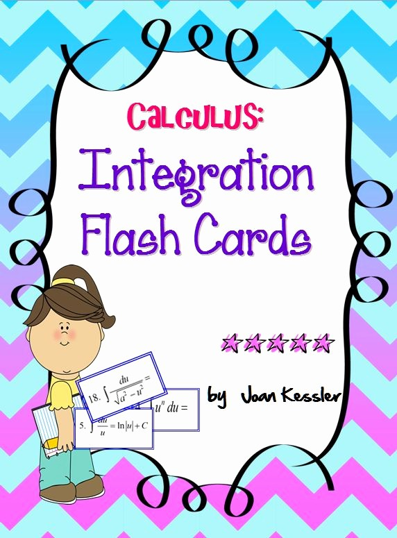 Double Sided Flash Card Template Lovely 43 Best Images About Calculus Ap Exam Materials On