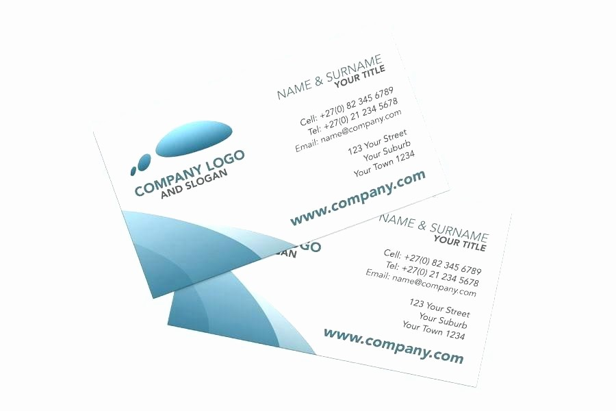 Double Sided Flash Card Template Unique Double Sided Card Template Two Sided Business Card