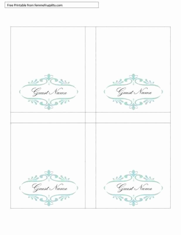Double Sided Tent Card Template Awesome Free Printable Table Tents Template