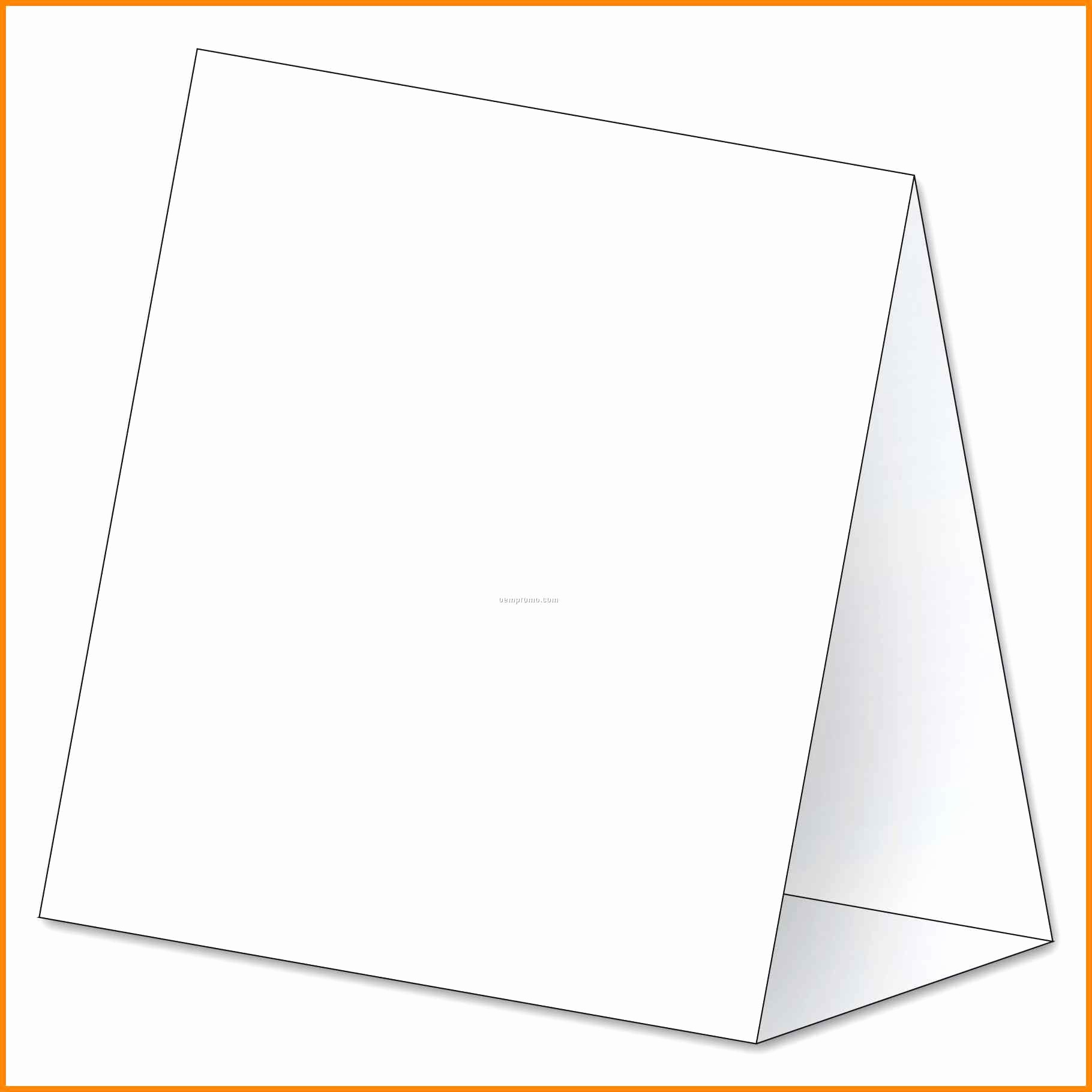 Double Sided Tent Card Template Elegant Table Tent Template Word