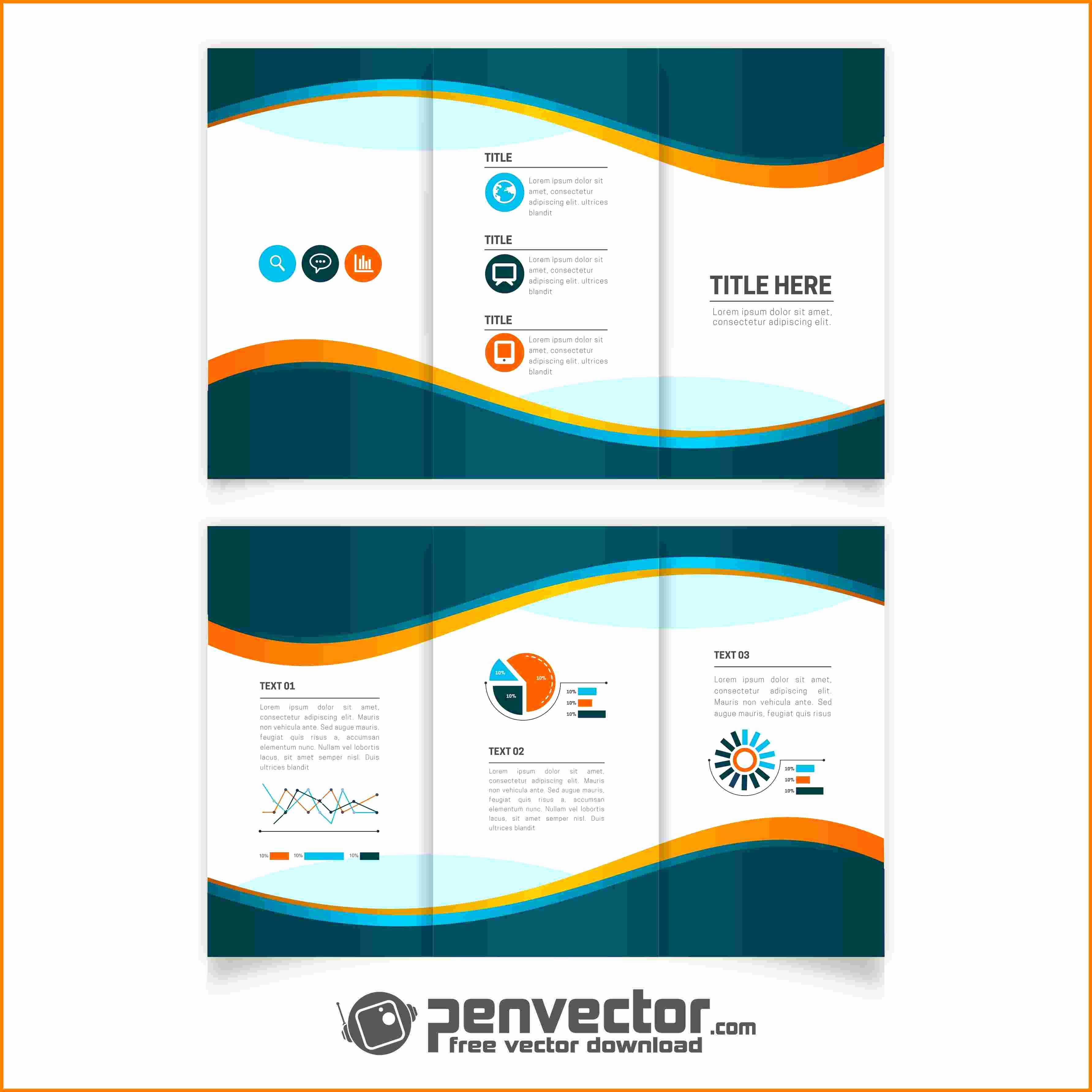 Download Brochure Templates for Word Awesome 7 Free Brochure Templates for Microsoft Word