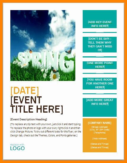 Download Brochure Templates for Word Awesome Flyer Template Word Free – Free Brochure Templates