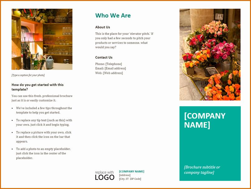 Download Brochure Templates for Word Elegant 13 Free Brochure Templates for Microsoft Word