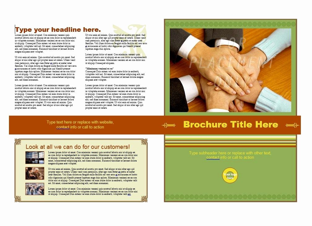 Download Brochure Templates for Word Inspirational 31 Free Brochure Templates Ms Word and Pdf Free