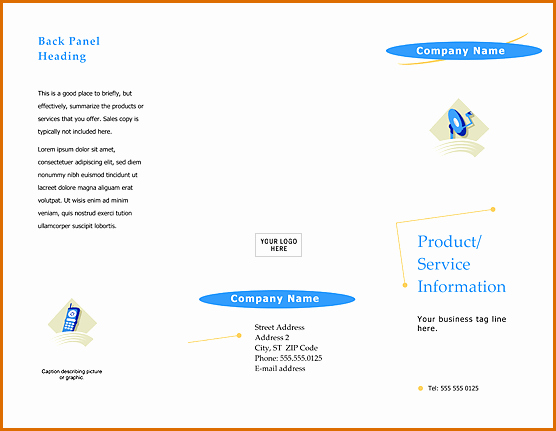 Download Brochure Templates for Word Lovely 13 Free Brochure Templates for Microsoft Word