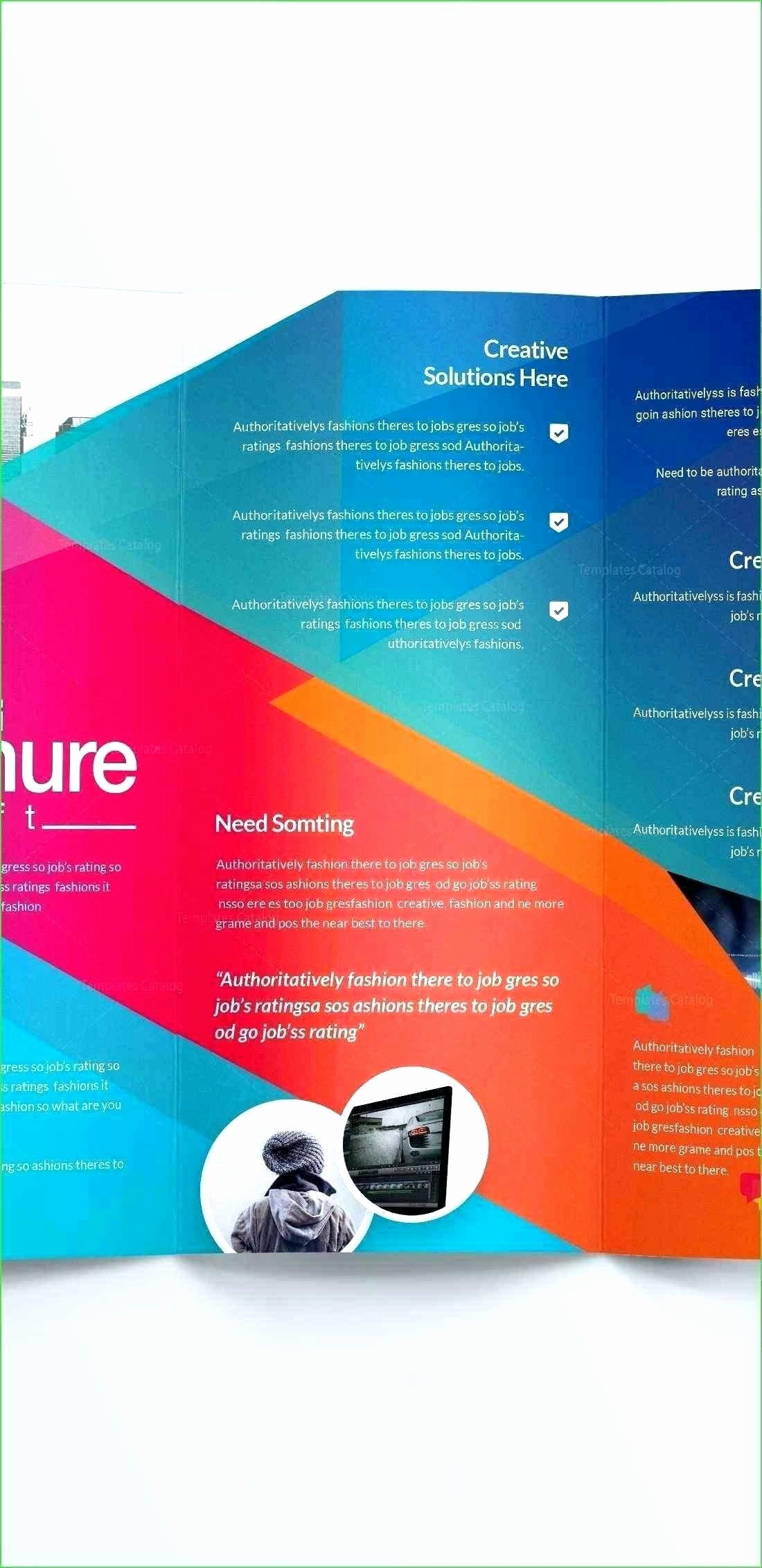 Download Brochure Templates for Word Luxury Blank Brochure Templates Free Download Word