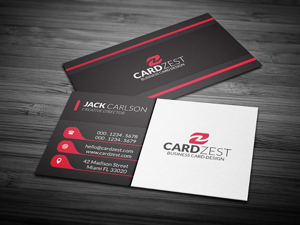 Download Business Card Template Word Awesome 25 Free Business Cards – Free Word Pdf Psd format