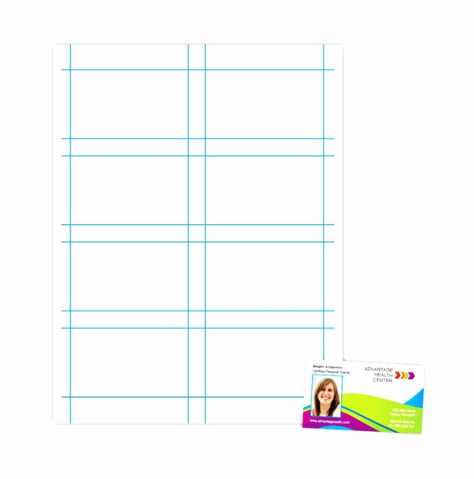 Download Business Card Template Word Elegant 8 Business Card Printer Template Tuyto