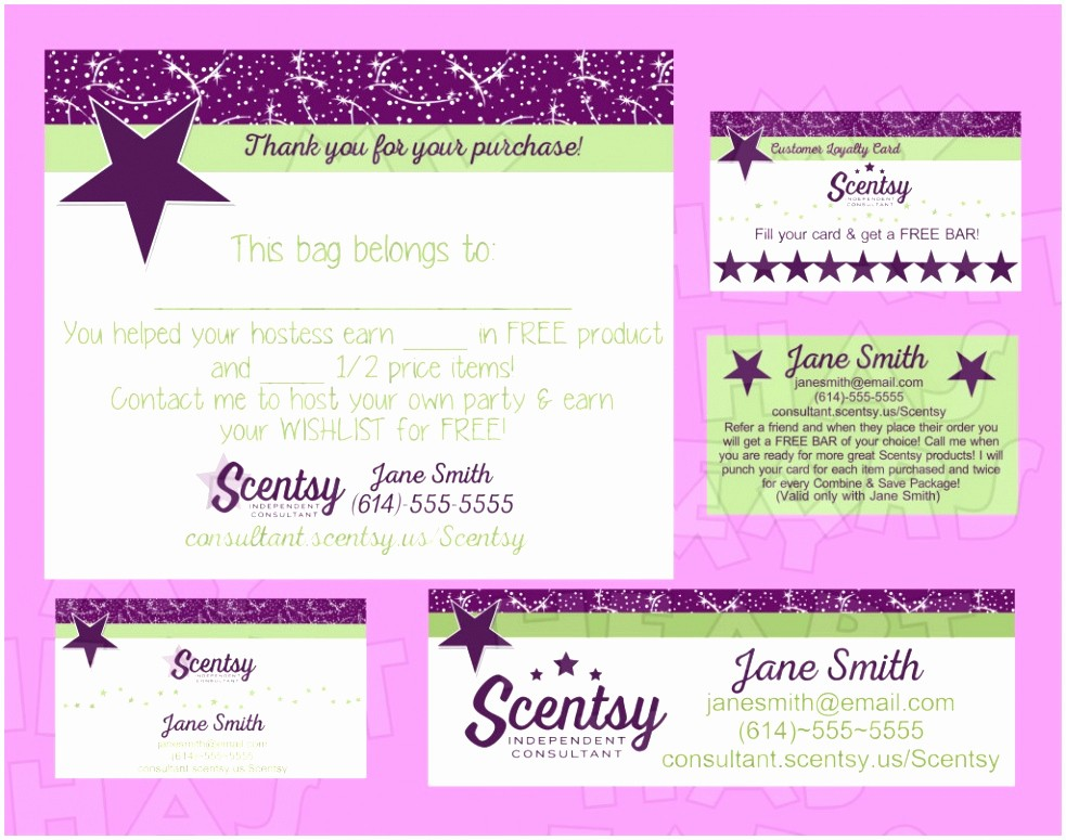 Download Business Card Template Word New 6 Scentsy Business Card Template Fuura