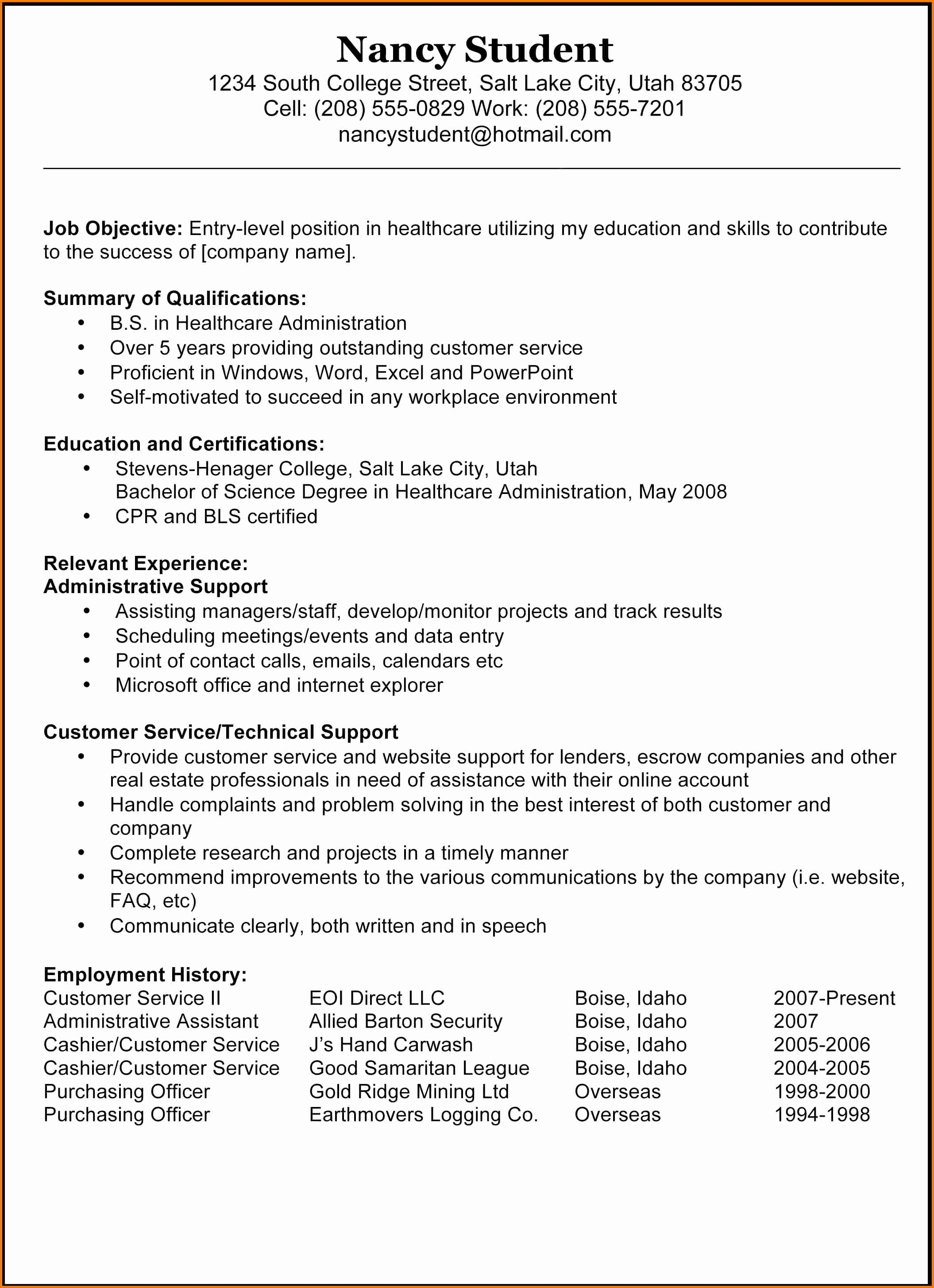 Download Free Professional Resume Templates Best Of Free Resume Templates Professional Template Doc Samples