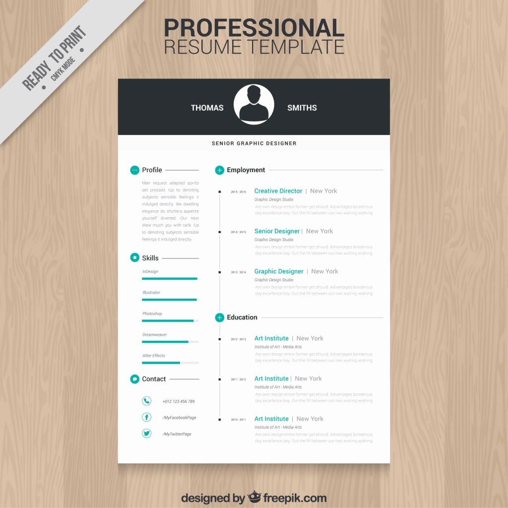 Download Free Professional Resume Templates Fresh 10 top Free Resume Templates Freepik Blog Freepik Blog