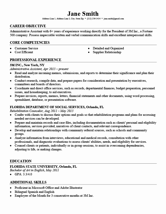 Download Free Professional Resume Templates Fresh Professional Resume Templates Free Download