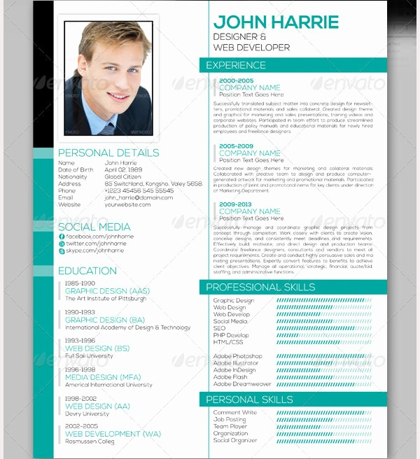 Download Free Professional Resume Templates Lovely Professional Resume Template 60 Free Samples Examples