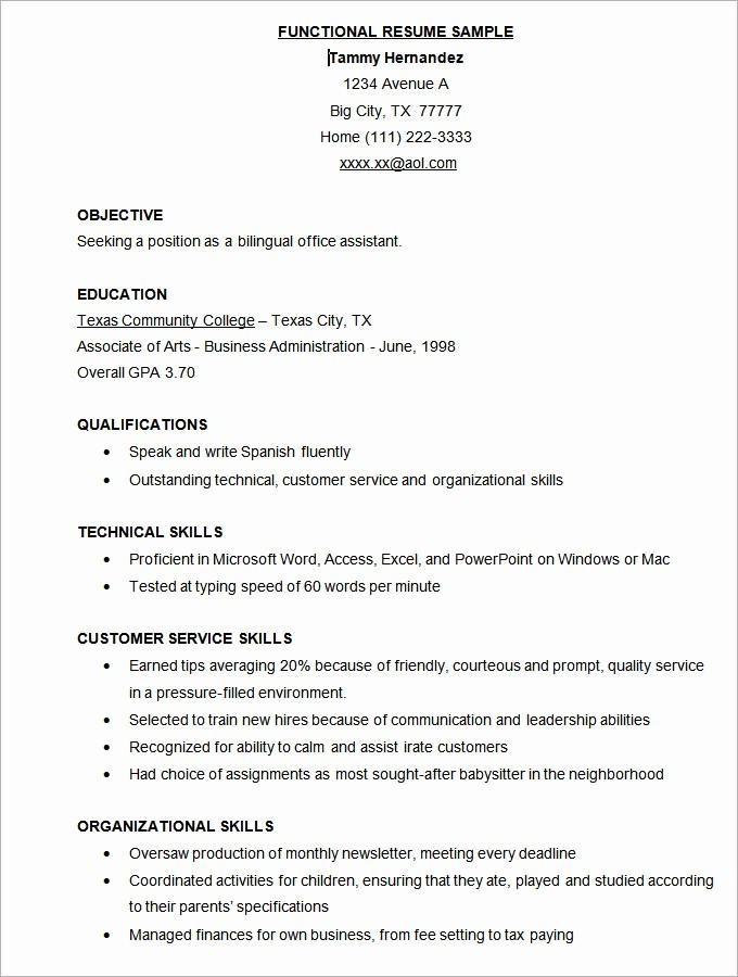 Download Ms Word Resume Template Elegant Microsoft Word Resume Template 49 Free Samples