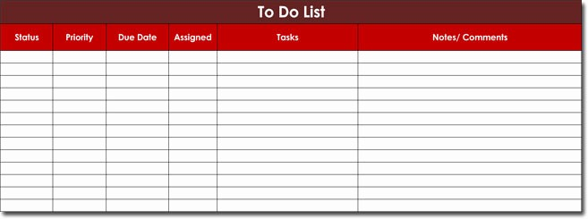 Download to Do List Template Lovely Free to Do List Templates with Guide to Make Your Own