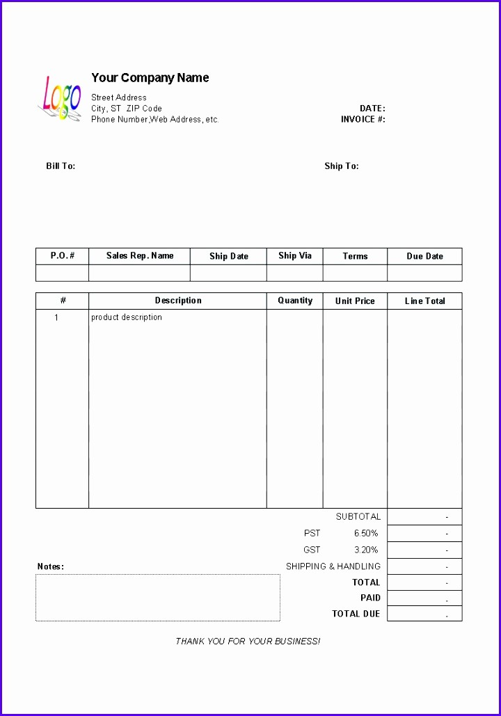 Downloadable Invoice Template for Mac Lovely 9 Microsoft Excel Invoice Template Free Download