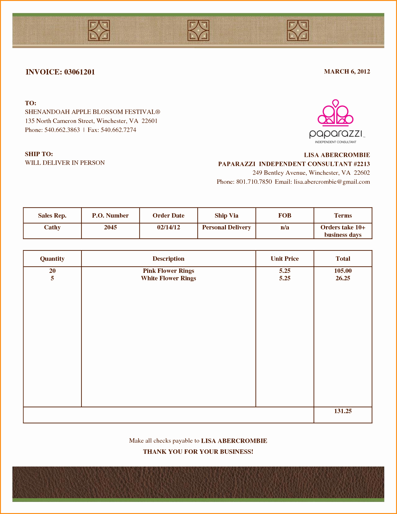 Downloadable Invoice Template for Mac Unique 9 Invoice Template for Mac