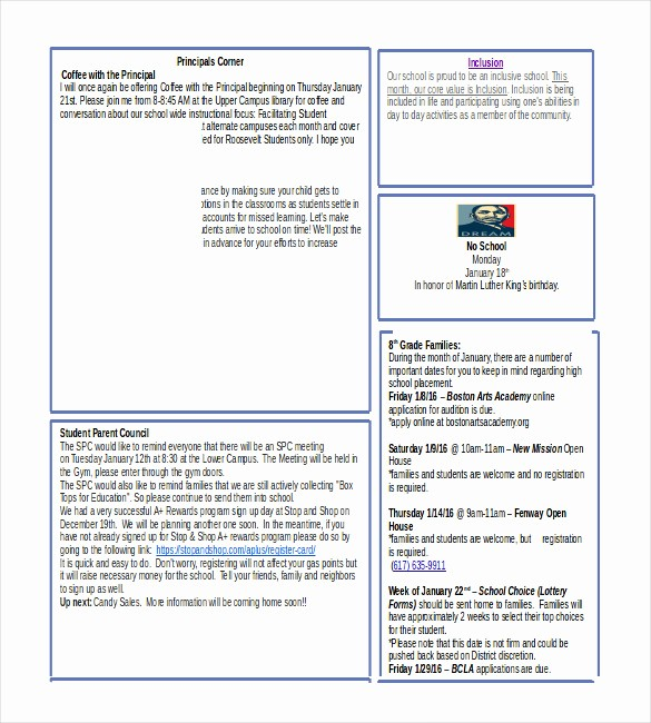 Downloadable Newsletter Templates for Word Awesome Word Newsletter Template – 31 Free Printable Microsoft