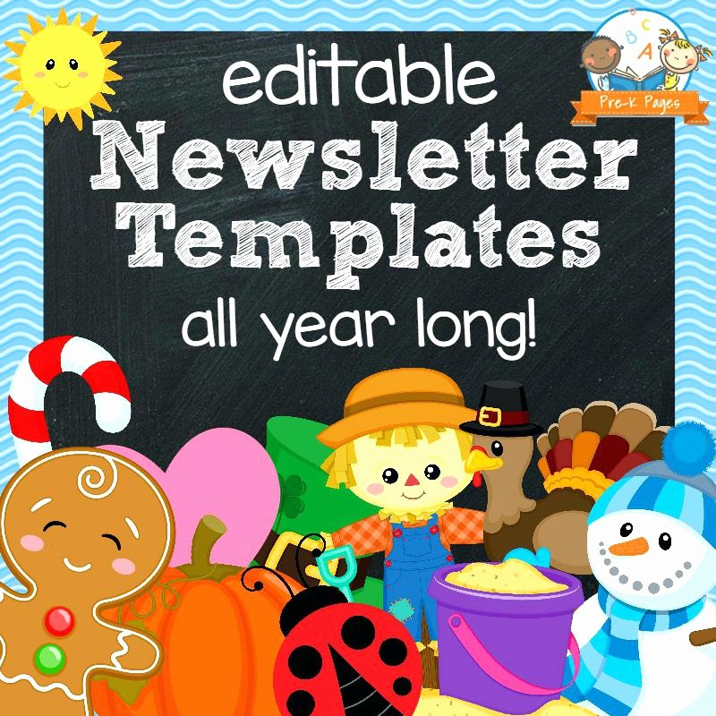 Downloadable Newsletter Templates for Word Best Of Free Classroom Newsletter Templates Template 9 Word