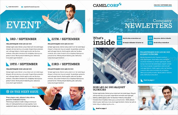 Downloadable Newsletter Templates for Word New 19 Word Newsletter Templates Psd Indesign Indd