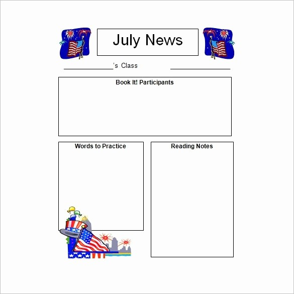 Downloadable Newsletter Templates for Word New Free Printable Newsletter Templates