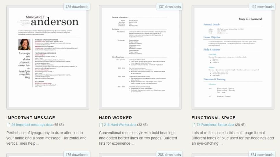 Downloadable Resume Template Microsoft Word Luxury Download 275 Free Resume Templates for Microsoft Word