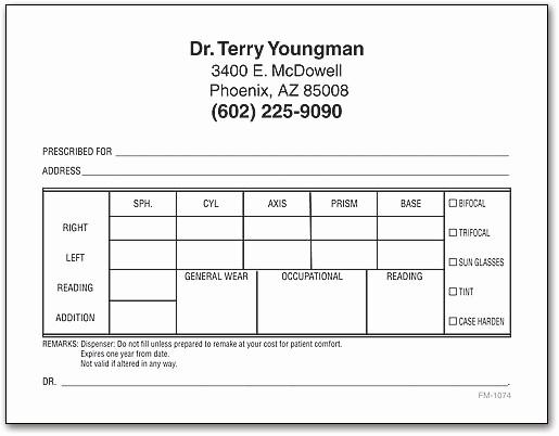Drug Card Template Microsoft Word New Rx Prescription Pads