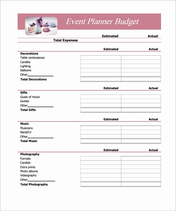 Easy Budget Spreadsheet Template Free Inspirational Simple Bud Template 14 Download Free Documents In