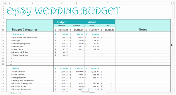 Easy Budget Spreadsheet Template Free New 10 Free Household Bud Spreadsheets for 2018
