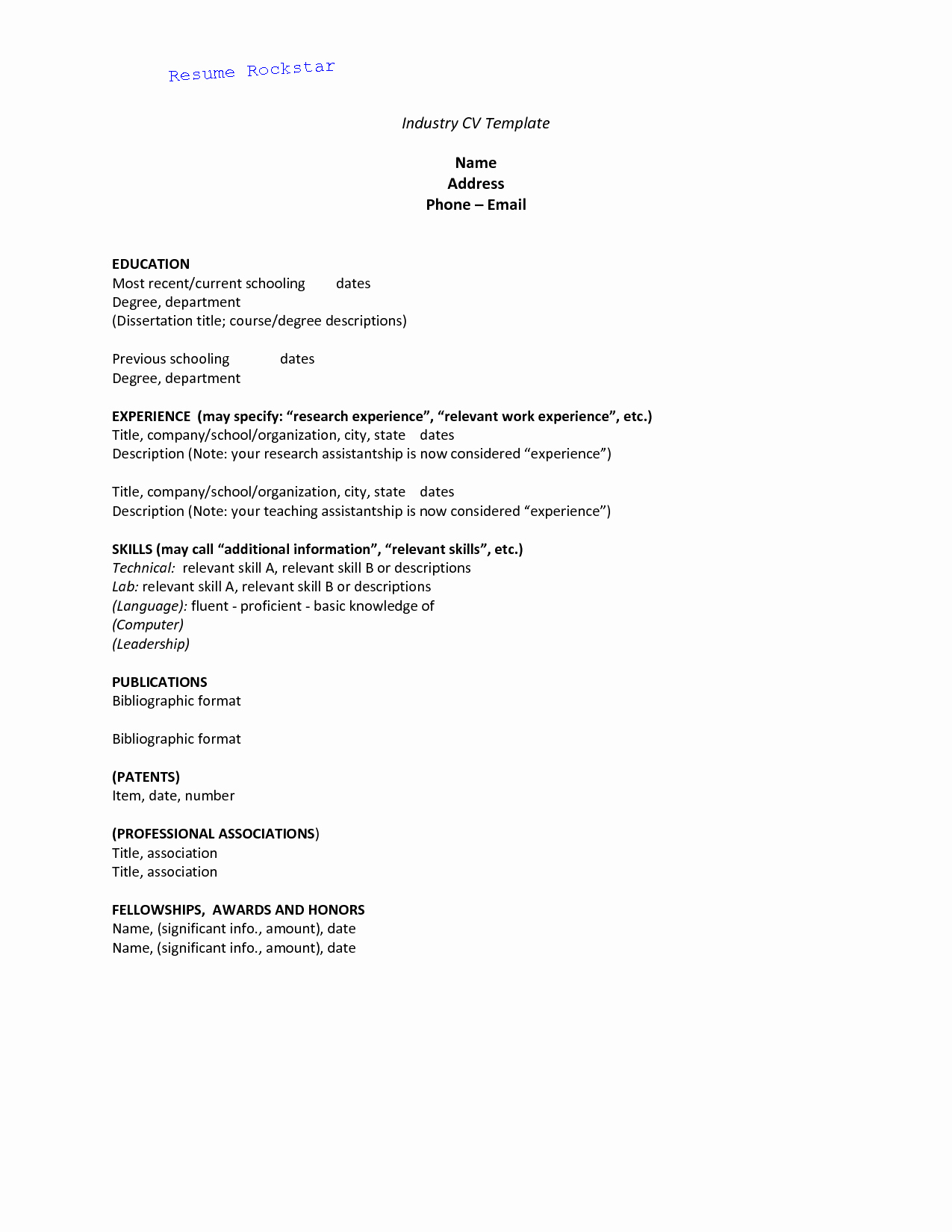Easy Cover Letter for Resume Awesome Basic Cover Letter for A Resume