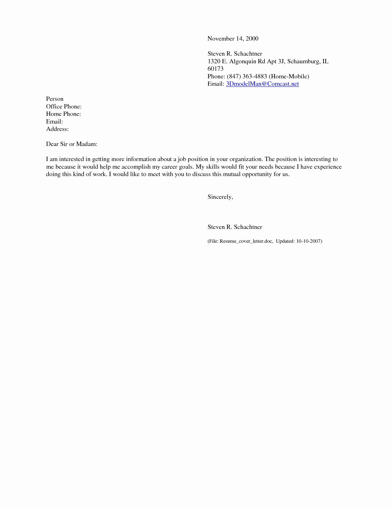 Easy Cover Letter for Resume Awesome Resume Templates Simple Emailover Letter for Sample with