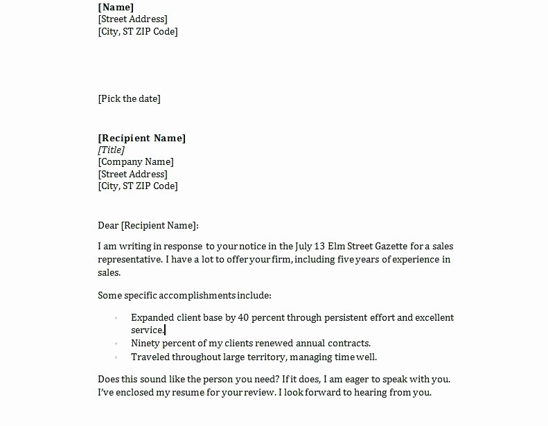Easy Cover Letter for Resume Luxury Simple Resume Cover Letter Samples – Dew Drops