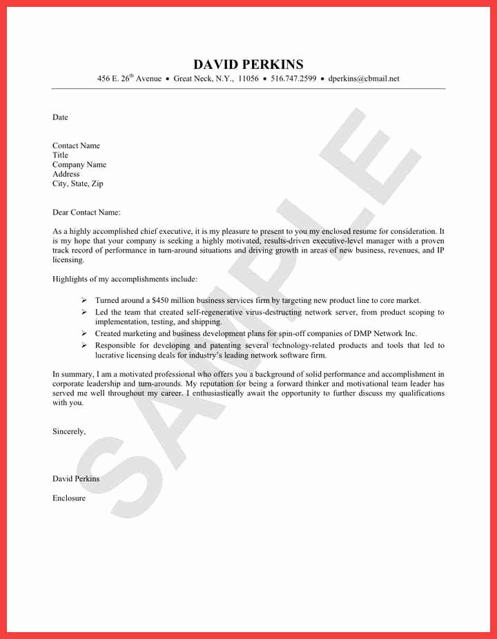 Easy Cover Letter for Resume New Easy Cover Letter Examples