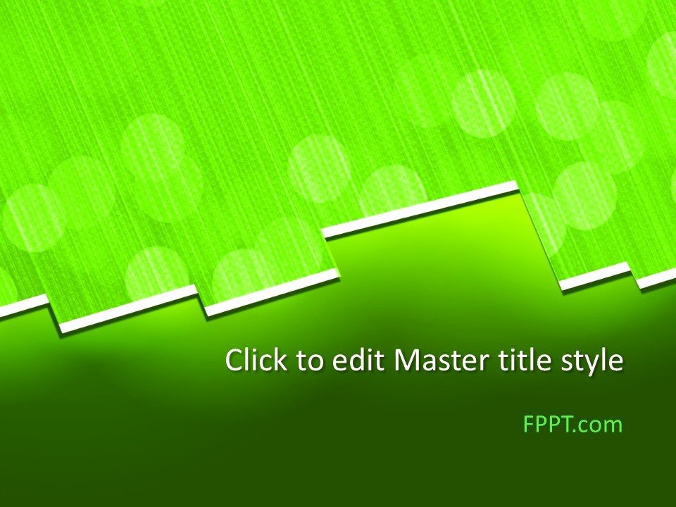 Easy P&l Template Fresh Free Simple Powerpoint Templates