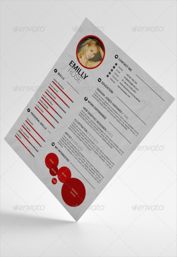 Easy P&l Template Inspirational 15 Psd Resume Templates