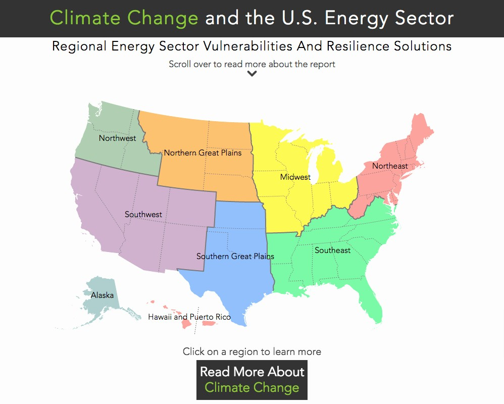 Edit Map Of the World Awesome Map How Climate Change Threatens America's Energy