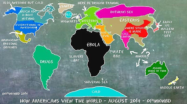 7 Alternative maps to turn your world upside down