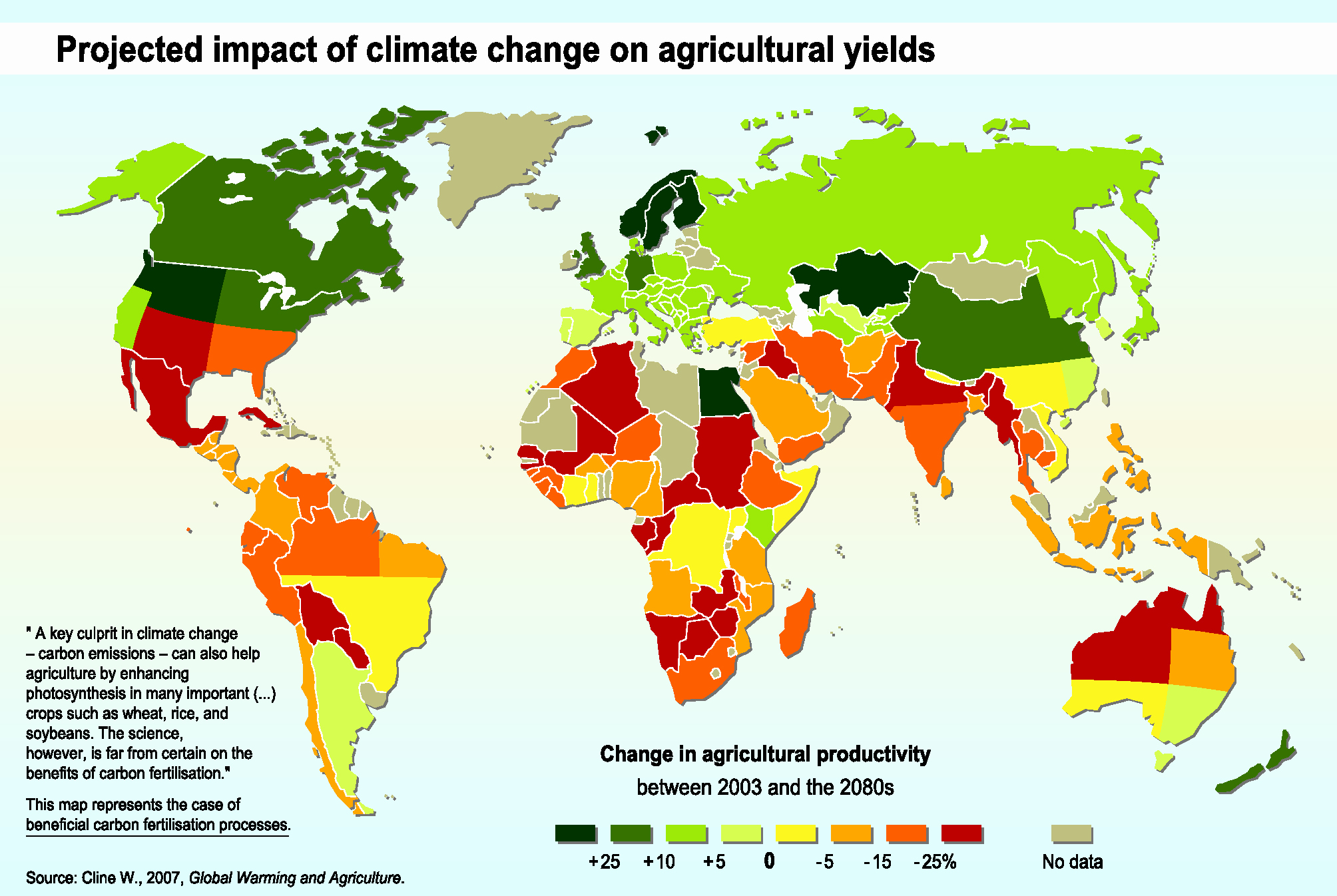 Edit Map Of the World Elegant Intro to Global Climate Change and Agriculture