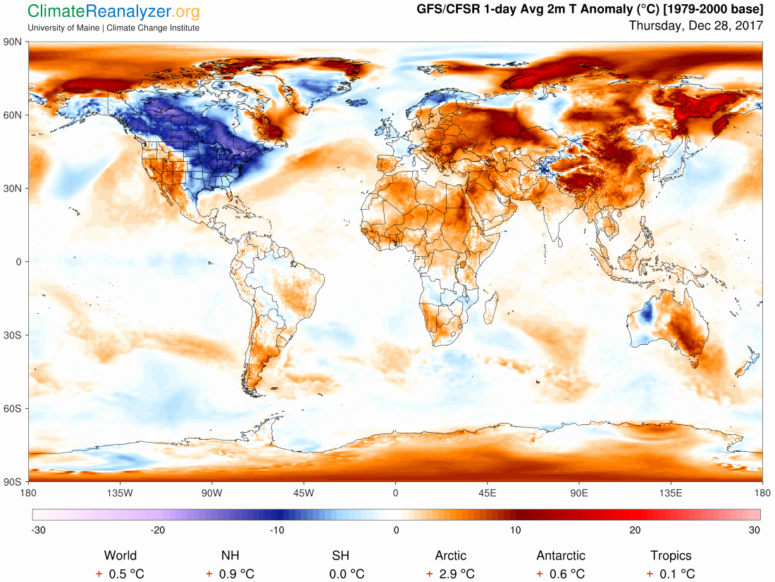 Edit Map Of the World Lovely Trump Thinks Climate Change isn T Real because It S Cold
