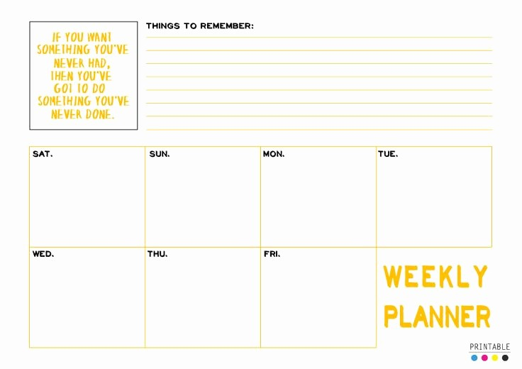 Editable Calendar 2016-17 Beautiful Printable Day 11 Weekly Planner Download A4 Size Pdf