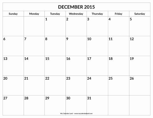 Editable Calendar 2016-17 Inspirational 31 Day Blank Printable Calendar