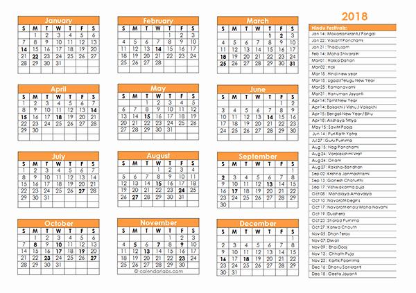 Editable Calendar 2016-17 Lovely Hindu Calendar November 2018 November 2018 Calendar with