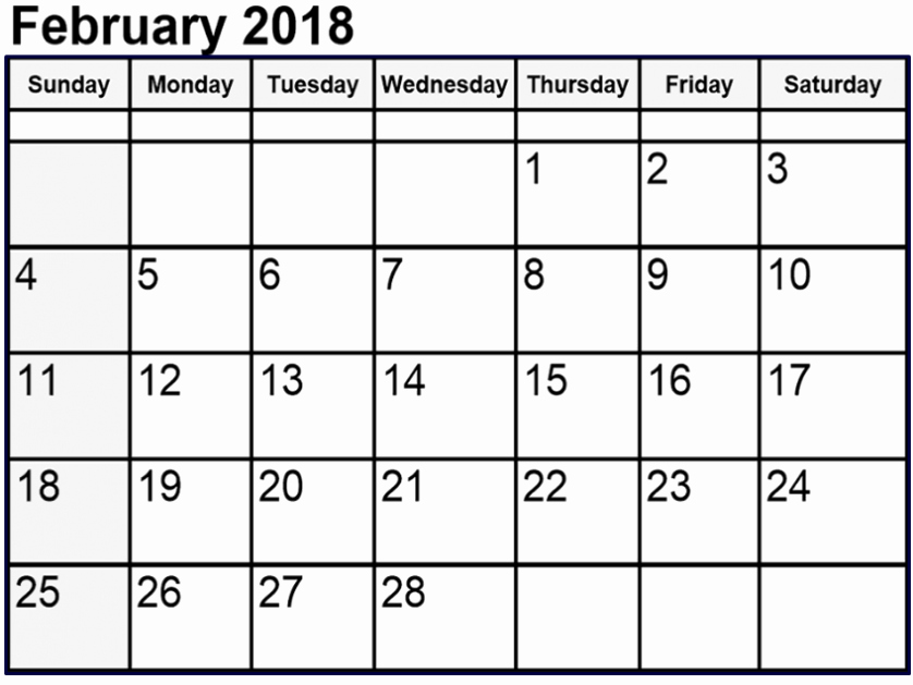 Editable Calendar 2017-2018 Awesome February 2018 Calendar Editable